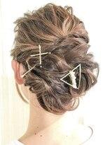 ヘアセットアンドメイクアップ シュシュ(Hair set&Make up chouchou)【L&c collection9】可愛いルーズアレンジ◆◇
