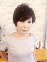 50代60代大人女性を綺麗にするマイナス10歳ショートヘア