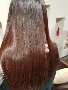 エンスー(ENTHU)の写真/【髪質改善☆サイエンスアクアOHモイスチャー¥7560】今までにない程の、驚きの艶髪が叶う!感動の仕上がりに