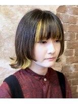 magiy hair 《nishibe》イエローインナーカラー