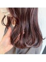 ヘアーアイストゥーレ(HAIR ICI TRE)チェリーブラウン ショコラブラウン 透明感カラー