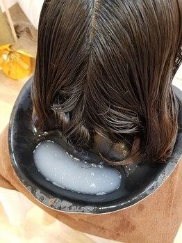 """ルモア(LUMORE)の写真/感動の指通り&手触りを実現!髪質改善を行う""""髪のお掃除""""でカラーやパーマを繰り返しても美髪をキープ!"""