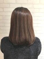 ヘアーアンドメイククリアー(Hair&Make CLEAR)つやさらストレートロブスタイル
