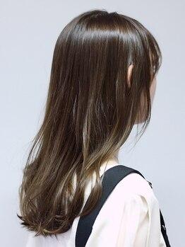 ヘアメイク リザ(hair make Liza)の写真/【千舟町通り/カラー+エヴァーリーフヘアエステ】カラー映えする施術×高級トリートメントでうるツヤ髪に♪