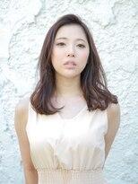 バルベストーキョー(BARBES TOKYO)【BARBES 土屋】大人女子のためのツヤ髪セミロングスタイル