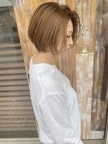 ショート/ショートボブ/ハイトーン/Bambi 丸山健介