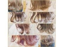 ヘアーアンドメイク ルシア 梅田茶屋町店(hair and make lucia)の雰囲気(限定【インナーカラー】【ケアブリーチ】でダメージレス◎)