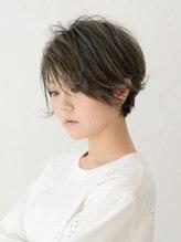 アース 渋谷道玄坂店(HAIR&MAKE EARTH)外国人風 マッシュショートボブ