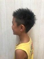 アルファ ヘアー デザイン(alpha hair design)キッズ ショート