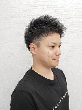 ヘアークラフトアッシュ(hair craft ash)スパイキーショート