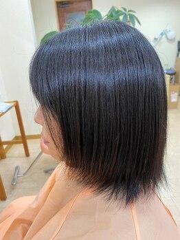 ヘアールームヴァニラ(Hair Room Vanilla)の写真/嬉しい100%オーガニック染料◎しっかり染まって自然な髪色に♪ジアミンレスなのでお肌にも優しいです…*
