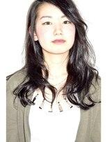 ニコ(Nico)ワンレグス×デジタルパーマ