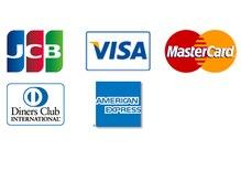Q クレジットカードは使えますか?