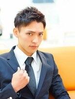 アクロスビズスタイル(AKROS BIZ STYLE)【AKROS】アップバングビジネスxショート!!!