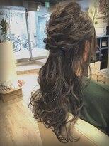 ヴェジールヘアデザイン(Vezir hair design)ハーフアップ