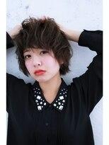 イクシェル 豊中店(IXCHEL)【本田晋一】スケルトングレー小顔ショート