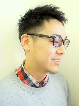 ポンヘアー(PON hair)の写真/≪新規メンズカット¥3600≫通いやすい価格が嬉しい!【ヘッドスパによる頭皮ケア】で健やかな頭皮と髪に◎