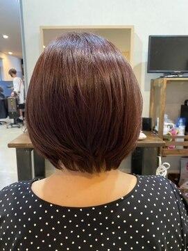 アリシアヘアー(ARISHIA hair)髪質改善 ボブショート 【アリシアヘアー 那珂】