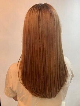 ビビット 大宮店(Vivid)の写真/《なめらかカシミヤ質感》超音波アイロンを使った最新トリメ!髪の悩みに合わせた施術で思い通りの髪質に♪