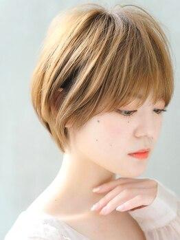 """リル ヘアーデザイン(Rire hair design)の写真/絶対失敗したくないショートヘアも[Rire hair]なら""""可愛いとキレイ""""を叶える上品なスタイルが手に入る♪"""