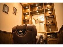 ヒロギンザバーバーショップ 新宿店(HIRO GINZA BARBER SHOP)の雰囲気(HIROGINZA初のアメリカンスタイル、個室完備でゆったりと☆)