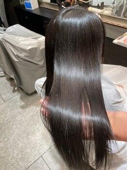 """アンボヤージュ(UNVOYAGE)の写真/エリア内でもトップクラスの""""髪を傷ませない技術""""。一人ひとりのお悩みを解決へと導きます!!"""