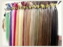 ヘアー クリエイション アミー あびこ店(Hair Creation ami)の雰囲気(エクステの色も豊富に揃えています☆)