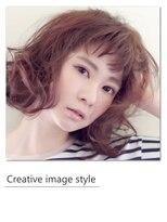 ヴェローグ シェ ブー(belog chez vous hair luxe)【Creative image styel】ナチュラルウェーブミディ