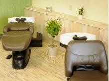 ヘアーサロン ベルカ(hair salon BELLKA)の雰囲気(フラットになるシャンプー台は気持ちよすぎて寝てしまうことも♪)