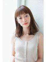 アンアミ オモテサンドウ(Un ami omotesando)【Un ami】カジュアルでお洒落なミディアム 工藤 由佳