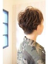 テオ ヘア(teo hair)ショート×パーマ