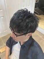オーブ ヘアー トピア 草薙店(AUBE HAIR topia)束感ショートマッシュ
