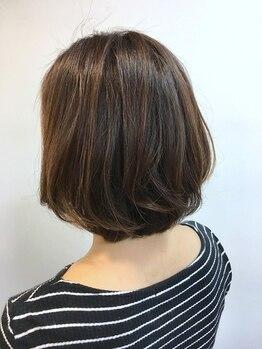ヘアーウィッシュ 名谷店(HAIR WISH)の写真/カラーによる刺激が苦手な方に!ダメージを最小限に抑える《ハーブカラー》で、気になる白髪も徹底カバー♪