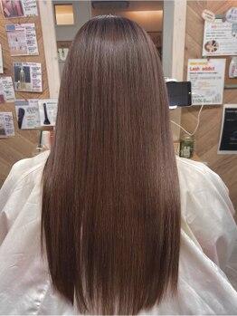 フレア・イデア(flare-想-)の写真/【西明石駅/駐車場完備】乾かしただけでサラ艶髪に!誰もが羨む潤い髪に。どんなダメージ毛でも諦めないで!!