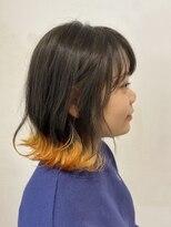 カッツ 東尾道店(CUT S)切りっぱなしBOB × スソカラー