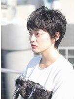 レンジシアオヤマ(RENJISHI AOYAMA)透け感と艶感たっぷりショートカット《池田涼平》
