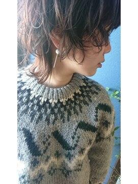 クブヘアー(kubu hair)《Kubu hair》ネオウルフニュアンスパーマ