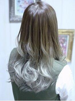ヘアメイク リザ(hair make Liza)の写真/【千舟町通り/学生限定☆カラー+トリートメント¥6500】どの薬剤でも同価格!人気のイルミナやTHROWもOK◎