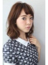 ホロホロ ヘアーデザイン(holoholo Hair Design)【holoholo】☆大人かわいいゆるふわミディ☆