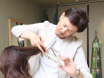 エクランの写真/≪新規限定☆カット+艶カラー+ラメラメトリートメント¥10,080≫あなたの髪質や骨格に合った髪型をご提案☆