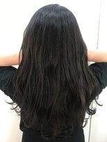 ヘアーアンドメイク ルシア 梅田茶屋町店(hair and make lucia)暗髪ならこの色!ブルージュ