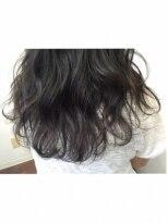 ヘアーアンドメイク ポッシュ 新宿店(HAIR&MAKE POSH)黒髪*透け感ナチュラルグラデーション