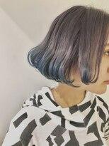 チクロヘアー(Ticro hair)【ticro大石】ラベンダー&ブルー