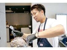 ヘアメイクアース 八潮店(HAIR & MAKE EARTH)の雰囲気(厳選された薬剤を使用☆頭皮や髪に優しいオーガニック薬剤も◎)