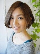 ヘアーワークス エイトコー(Hair works eight.co)大人かわいいAラインボブ