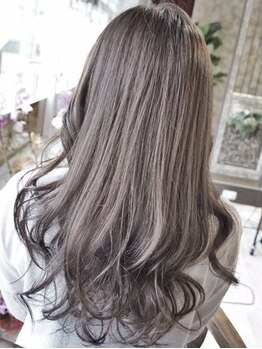 アンド ヘアーアトリエ(AND hair atelier)の写真/豊富な色味で今1番似合うスタイルを提案★明るいカラーも出来るから毎日のオシャレも気にせず楽しめる☆