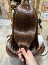 ヘアリゾートエーアイ 新宿西口店(hair resort Ai)広がりやすい髪質の方も一変【Ai 新宿 西新宿 新宿西口】