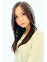 【所沢 YUSICA】透明感カラーとしなやかな艶髪ストレートSTYLE