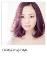 ヴェローグ シェ ブー(belog chez vous hair luxe)【Creative image style】ボブを2パターンに合わせて作りました