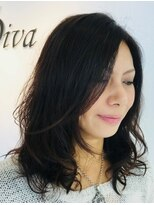 ディーバ ヘアーデザイン(Diva Hair Design)外国人風グラデーション